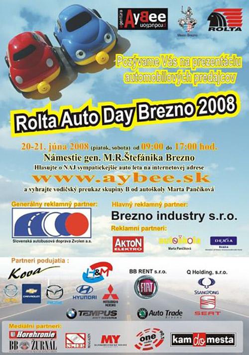 Rolta Auto Day Brezno 2008