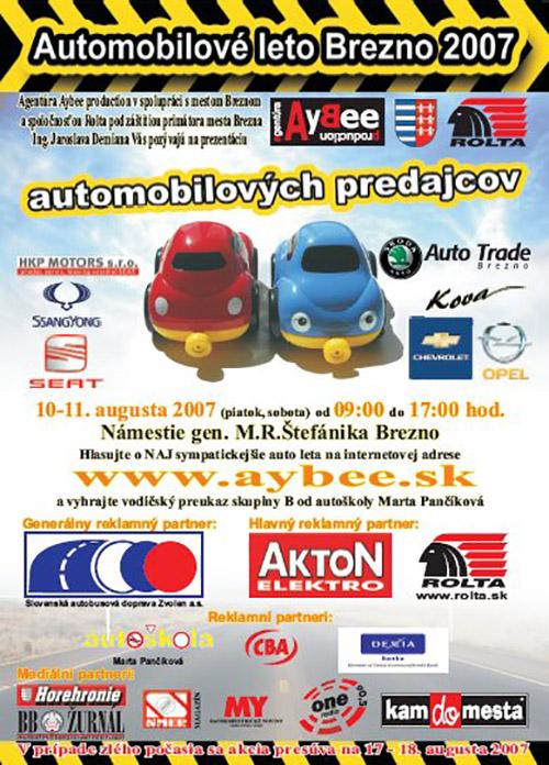 Automobilové leto Brezno 2007