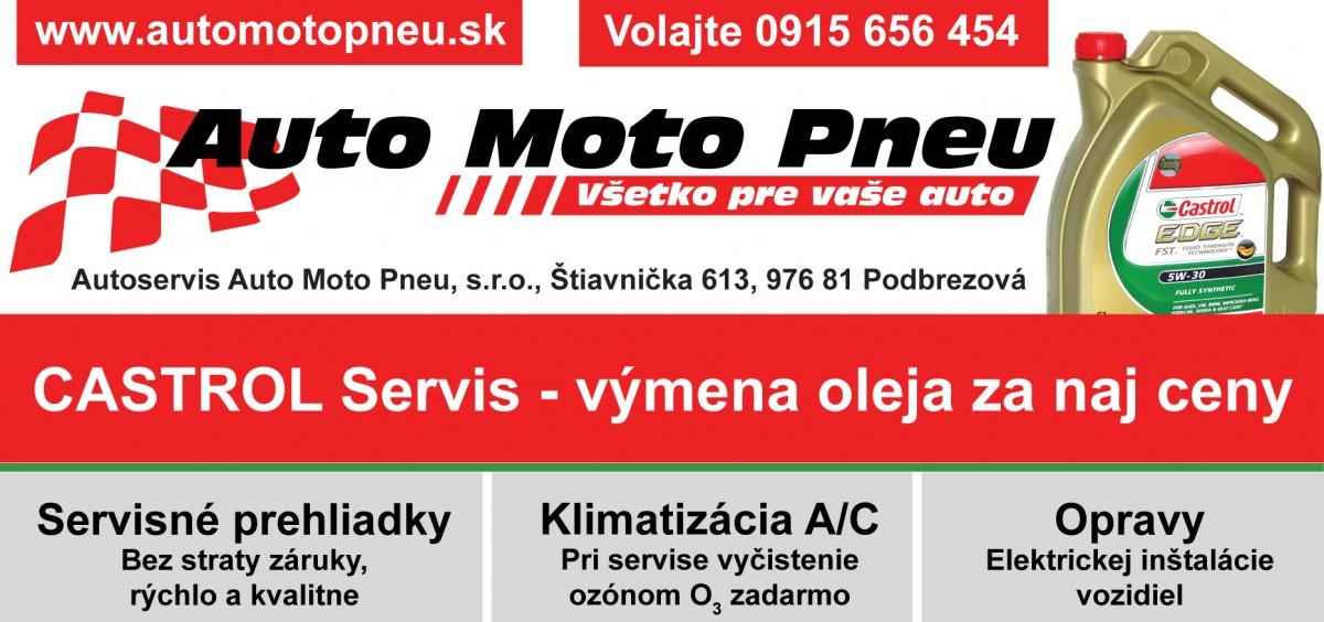 PR reklamnej kampane – Auto Moto Pneu