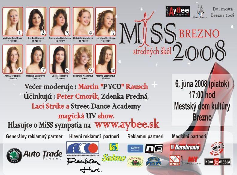 MiSS stredných škôl Brezno
