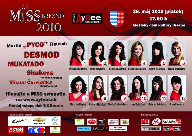 MiSS Brezno 2010