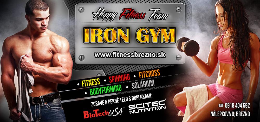 PR reklamnej kampane – IronGYm